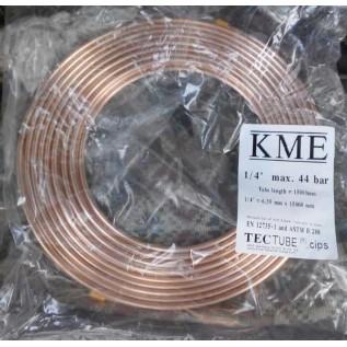 Труба медная KME 6.35 мм (1/4) 44 BAR