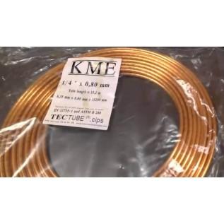 Труба медная KME 9.52 мм (3/8)
