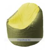 Кресло мешок Bravo оливково-жёлтое