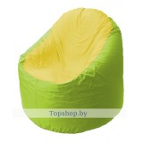 Кресло мешок Bravo салатово-жёлтое
