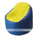 Кресло мешок Bravo сине-желтое
