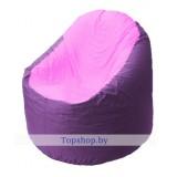 Кресло мешок Bravo сиренево-розовое