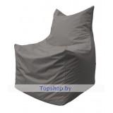 Кресло мешок Фокс светло-серый