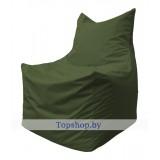 Кресло мешок Фокс тёмно-оливковый